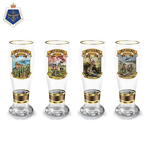 Veterans Remembered Beer Glass Set