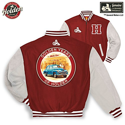 Golden Years Of Holden Varsity Jacket
