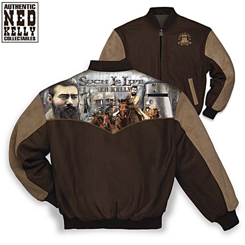 """Ned Kelly Such Is Life """"Aussie Rebel"""" Jacket"""