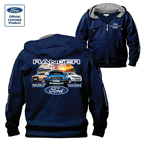 Ford Ranger Built Tough Hoodie