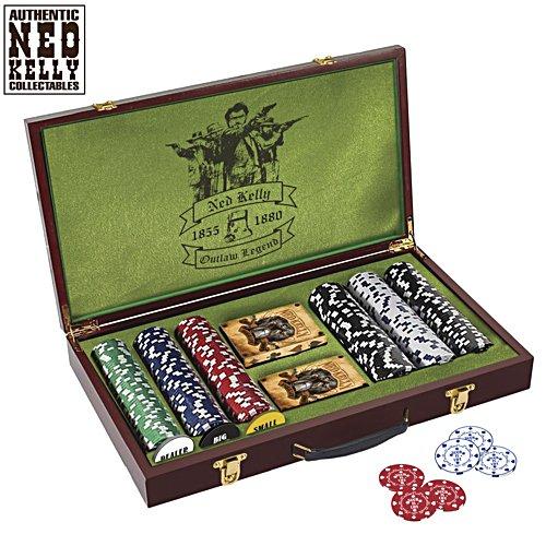 Ned Kelly 'Winner Takes All' Poker Set