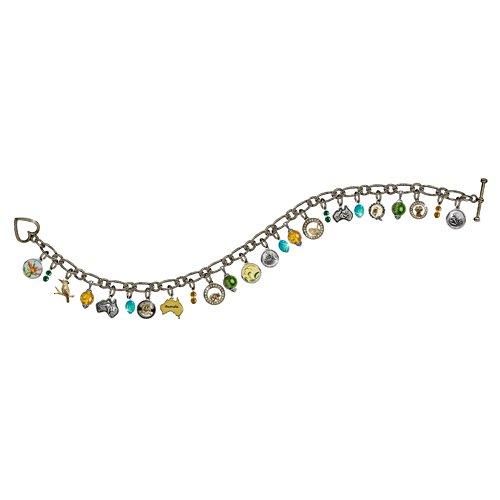 Australian Antique Sliver Vintage Charm Bracelet