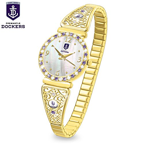 AFL Fremantle Dockers Ladies Watch