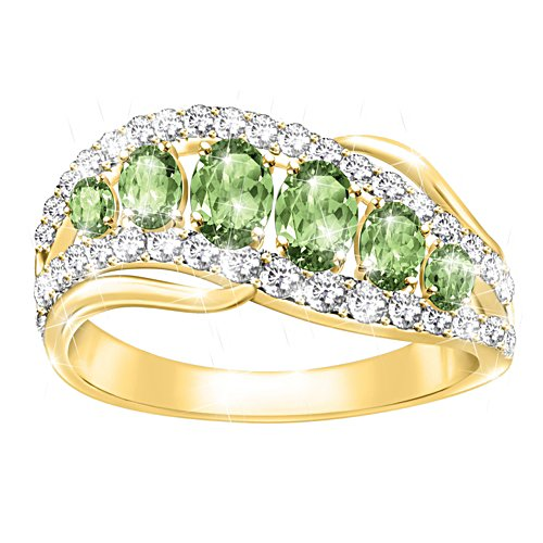 Lucky Country Peridot Ring