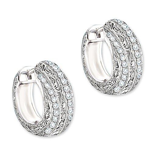 """""""Diamant-Eleganz"""" Ohrringe"""
