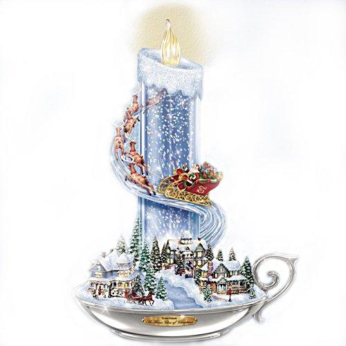 Thomas Kinkade's Het warme licht van Kerstmis