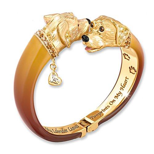 Bracelet « J'aime mon labrador »