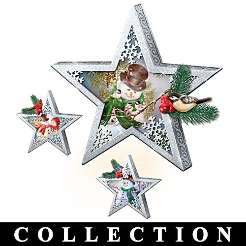 Collection d'étoiles de Noël de Dona Gelsinger