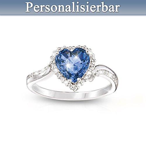 Das Herz von Dir – Personalisierter Ring