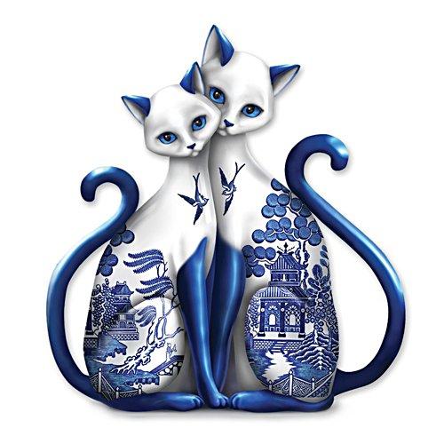 Purr-ecious Blessing  Porcelain Figurine