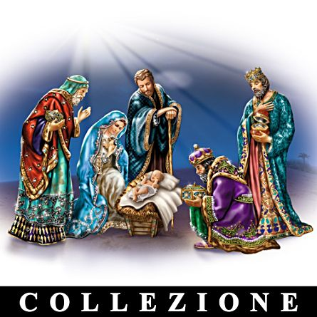 La nascita di Cristo in tutto il Suo splendore