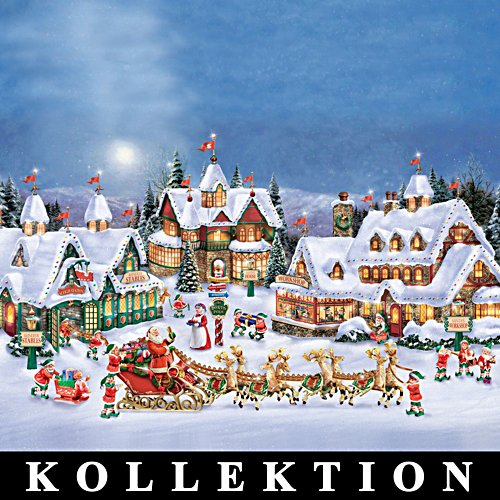 Thomas Kinkades Polardorf – Kollektion