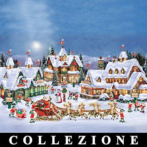 Il Villaggio di Babbo Natale di Thomas Kinkade