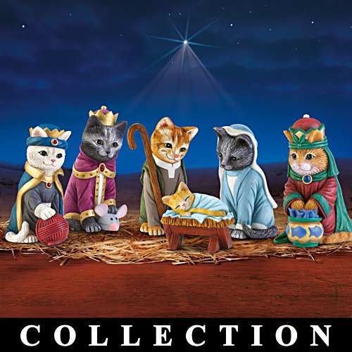 La collection « Chat-rmante surprise de Noël »