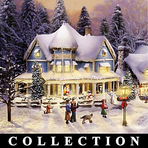 Le village en hiver de Thomas Kinkade
