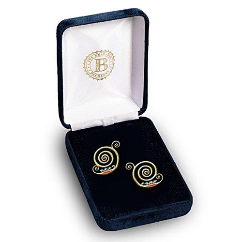 De Gustav Klimt sieraden collectie - De oorbellen