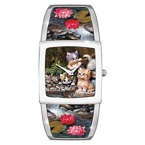 Auf Samtpfoten - Armbanduhr