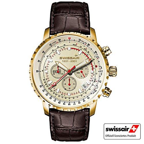 Swissair Gold-Edition – Armbanduhr