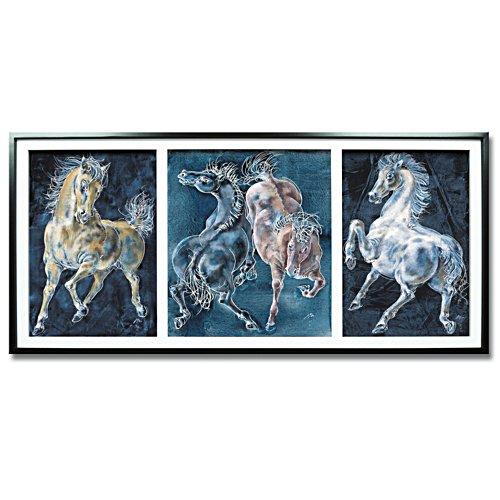 Das Triptychon der Pferde