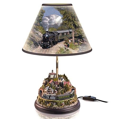 Gotthard-Lokomotive – Tischleuchte