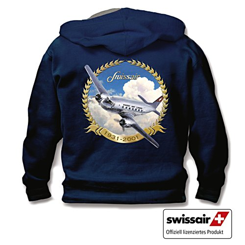 """Die Kapuzenjacke """"Swissair 1931-2001"""""""