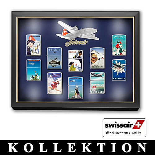 "Die ZIPPO®-Kollektion ""Swissair Highlights"""
