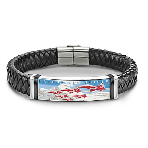 Faszination Rot-Weiss Armband