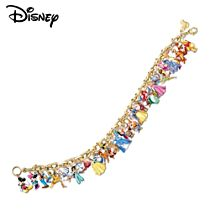The Ultimate Disney Classic 37-Character Women's Charm Bracelet
