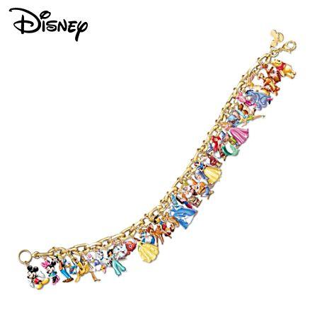 The Ultimate Disney Classic 37-Character Women's Charm Bracelet