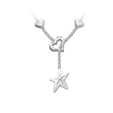 Shining Star Granddaughter Pendant on elvis presley health