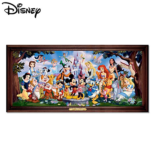 'The Magic Of Disney' Stained-Glass Panorama