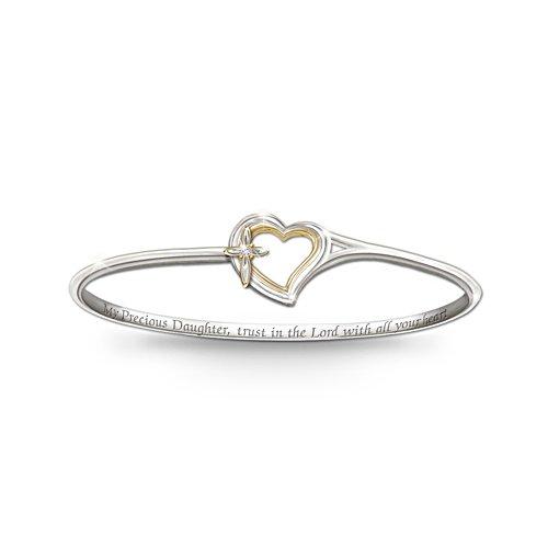 Faith And Love Daughter Bracelet