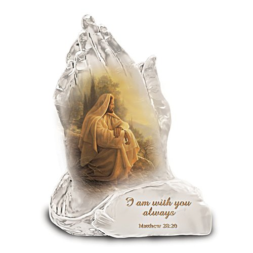 """""""In God's Hands"""" Figurine Collection"""