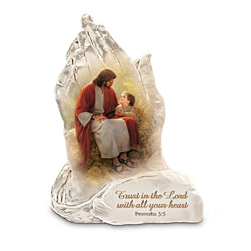 Greg Olsen Trust In The Lord Sculpture