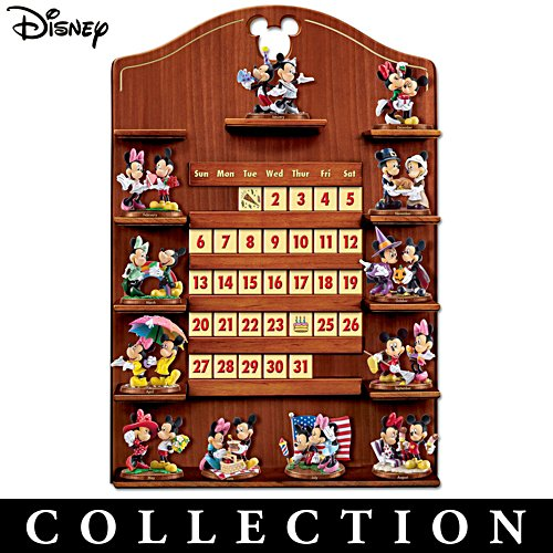 """Mickey Mouse And Minnie Mouse Together Forever"" Calendar Collection"