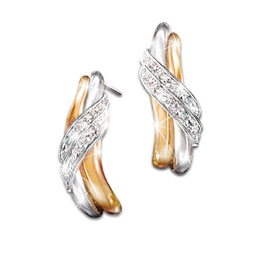"""Diamond Embrace"" Diamond Earrings"