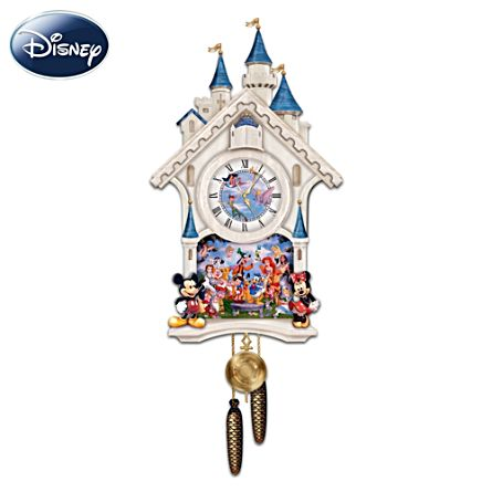 Disney 'Happiest Of Times' Cuckoo Clock