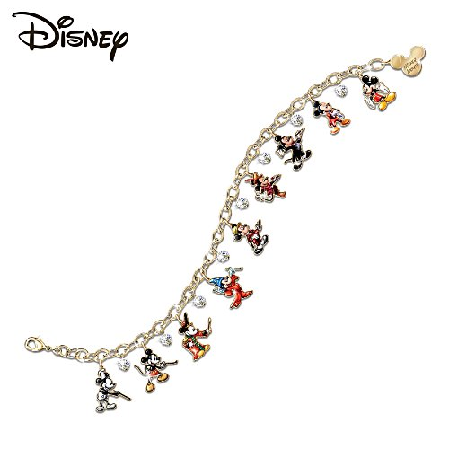 Disney 'Mickey Through The Years' Ladies' Charm Bracelet