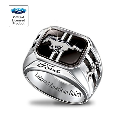 Officially Licensed Ford Mustang Men's Ring