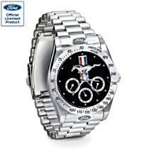 "Ford Mustang ""Untamed American Spirit"" Men's Stainless Steel Watch"