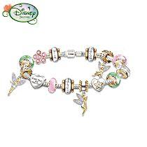 Disney Tinker Bell Women's Charm Bracelet