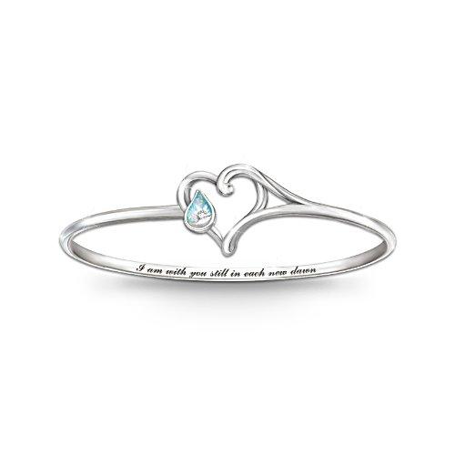 'I Am With You' Diamond And Created Opal Bracelet