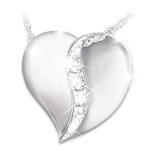 'Today, Tomorrow, Always' Daughter Diamond Pendant