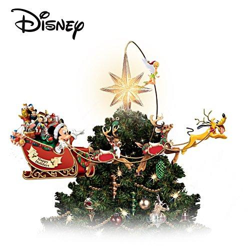 Marvel Christmas Tree Topper.Illuminated Rotating Disney Tree Topper