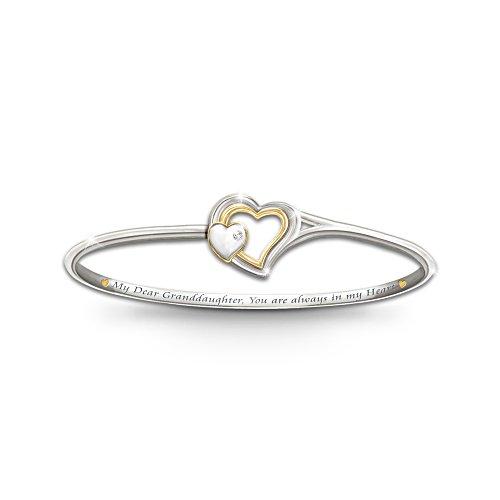 'Always In My Heart' Granddaughter Bracelet