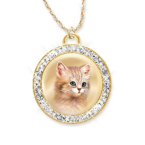 Jürgen Scholz 'A Cat Is A Friend Fur-Ever' Pendant