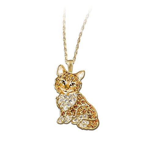 Goldiges Kätzchen – Katzen-Anhänger
