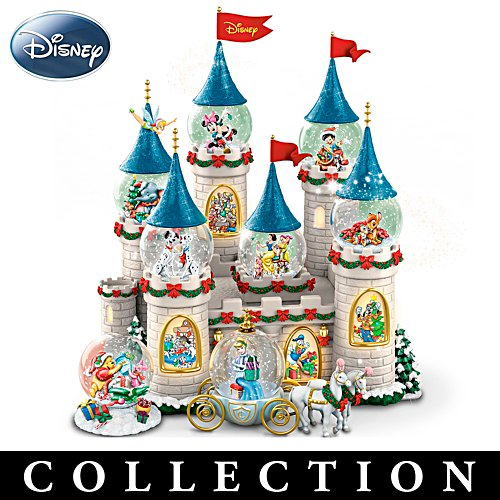 Disney's 'Christmas At The Castle' Snowglobe Collection