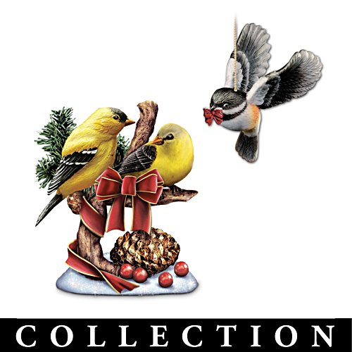 'Holiday Tweets' Songbird Tree Collection