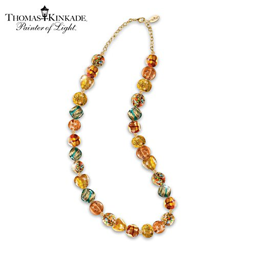 "Thomas Kinkade ""Colours Of Venice"" Necklace"